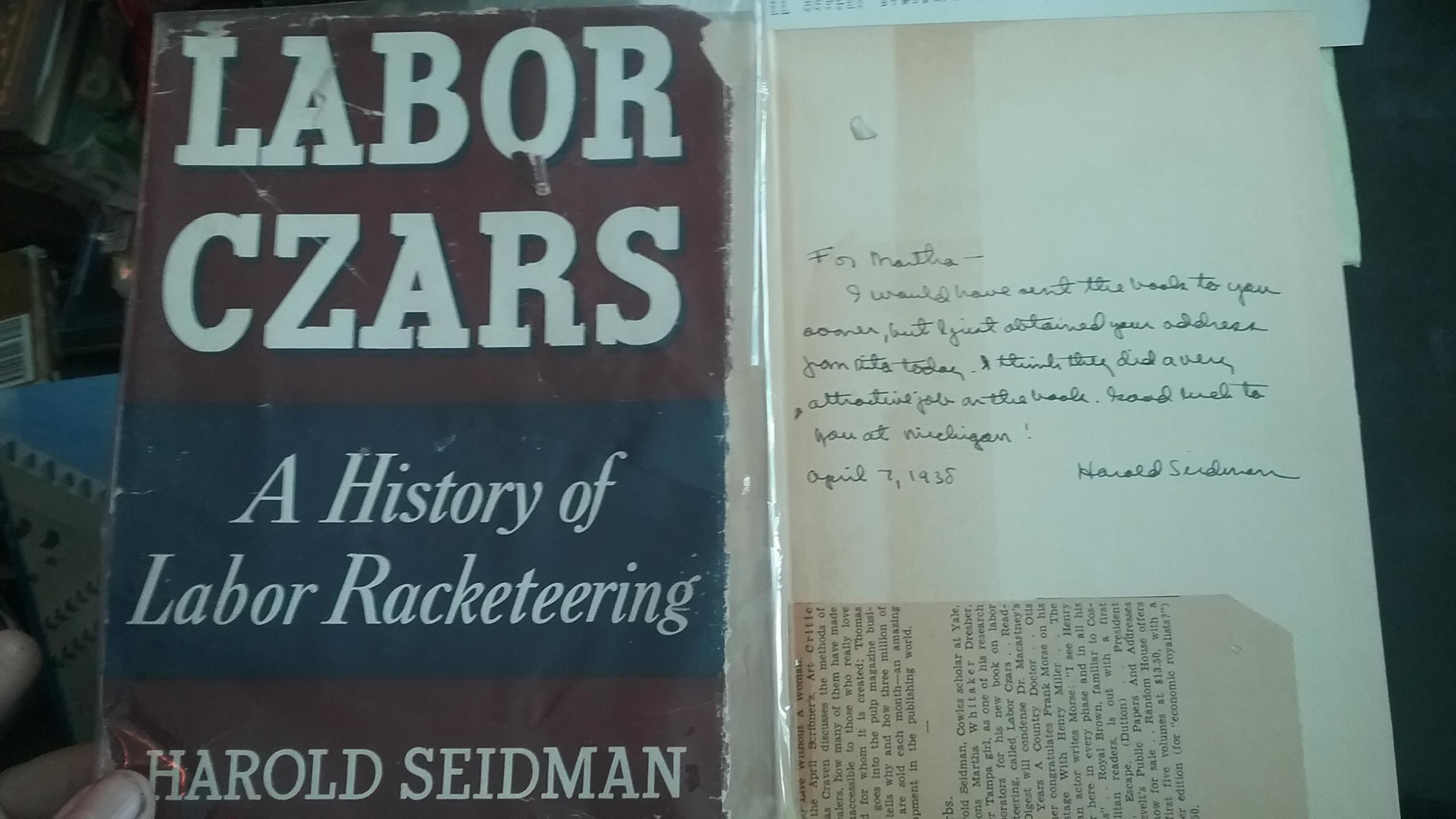 what is labor racketeering