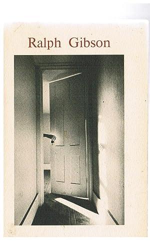 Les Cahiers De La Photographie: Gibson, Ralph