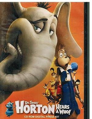 Horton Hears A Who CD rom Press: Dr Seuss