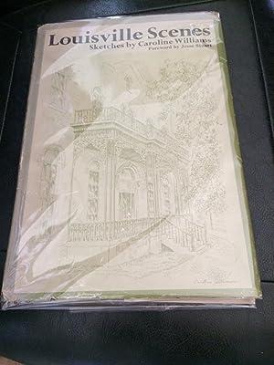 Louisville Scenes: Sketches by Caroline Williams: Williams Caroline illustrator