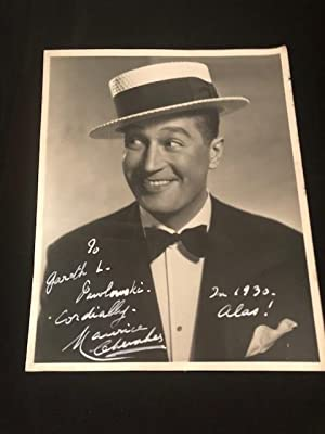 Maurice Chevalier 8 by 10 Photograph: Chevalier, Maurice