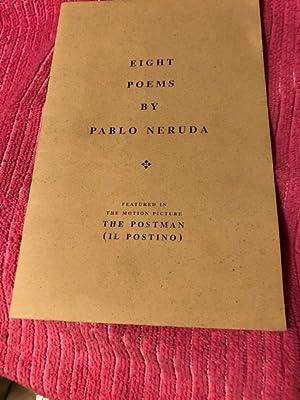EIght Poems: Neruda, Pablo