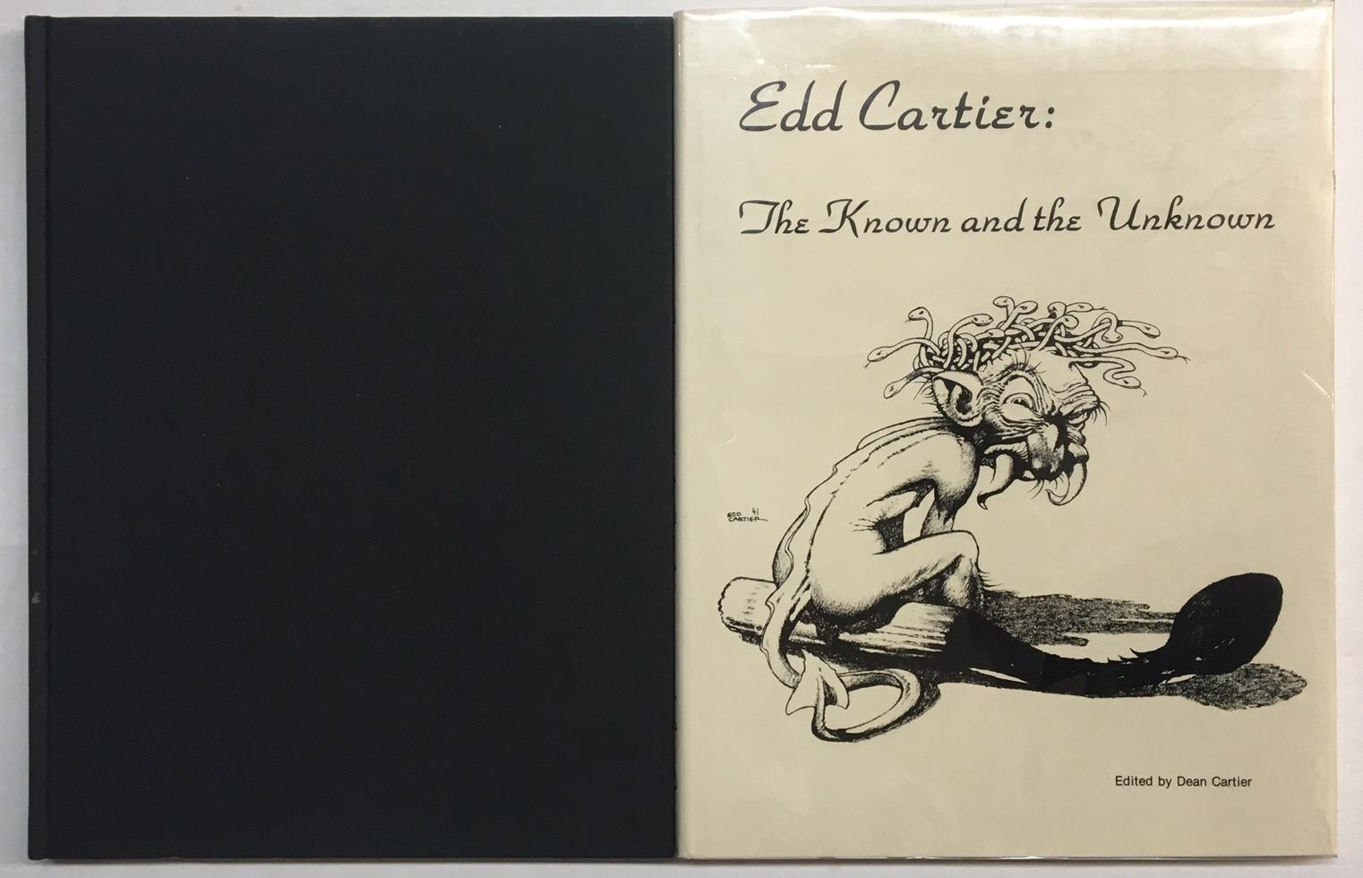 Edd Cartier: The Known and the Unknown Cartier, Dean - Editor [Fine] [Hardcover] Although unstated, this is one of only 26 publishers copies for private distribution to the contributants. Signed by Edd Cartier, Dean Cartier, Gerry de la Ree and Helen de la Ree.