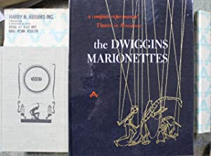 "Two books :- ""The Dwiggins Marionettes : Abbe, Dorothy"