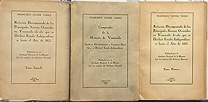 Volumes I and II. Relacion documentada de: Yanes, Francisco Javier