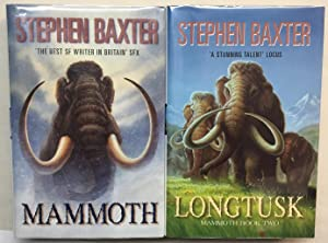 Mammoth Book 1 Silverhair and Book 2 Longtusk
