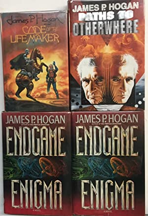 Four Volumes :- Code of the Life Maker, Endgame Enigma (2 copies) and paths to Otherwhere.