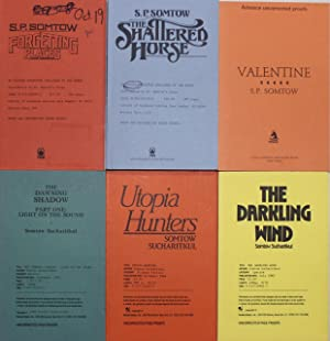 Six uncorrected proofs :- Forgetting Places, The Shattered Horse, Valentine, The Dawning Shadow, ...