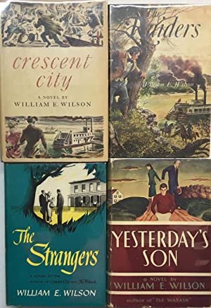 Four titles. - Crescent City, The Raiders, The Strangers and Yesterday's Son.