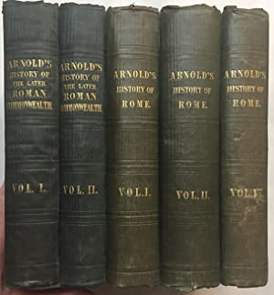 Five related volumes. History of the Later Roman Commonwealth and History of Rome - Five Volumes