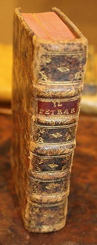 Il Petrarcha: nuouamente conferito con essemplari antichi