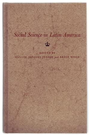 SOCIAL SCIENCE IN LATIN AMERICA.: Diégues Júnior, Manuel;