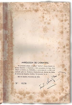 ANTOLOGIA DE CARNAVAL.: Louzada, Wilson; Percy