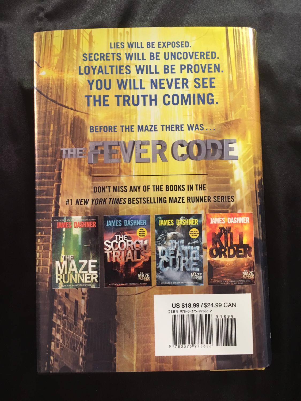 maze Code The Fever Five; Runner Book