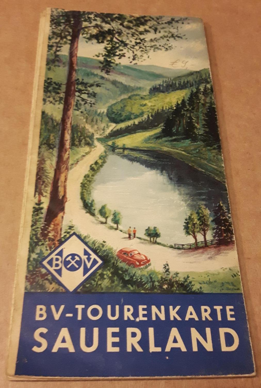 Sauerland Karte Berge.Bv Tourenkarte Sauerland Land Der Tausend