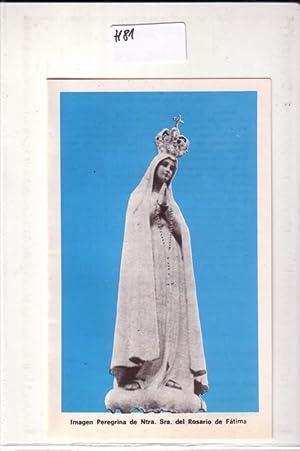 Heftchen Heiligenbild Sterbebild / Imagen Peregrina de: ohne
