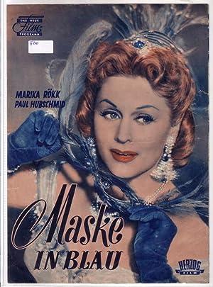 Original Filmprogramm/Programmheft/Das Neue Film-Programm: Maske in blau: Das Neue Film-Programm