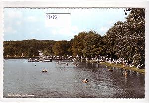 Ansichtskarte Postkarte Der schöne Herthasee / Steg: ohne