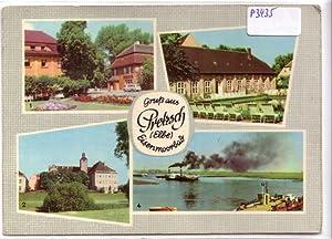 Ansichtskarte Postkarte Gruß aus Pretzsch (Elbe), Eisenmoorbad: ohne