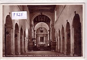 Ansichtskarte Postkarte SIRACUSA / Cattedrale (Gia Tempio: ohne