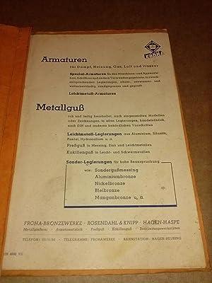 Katalog FROHA Bronzewerke Haspe - Katalog 21: FROHA-Armaturen (Hrsg.)