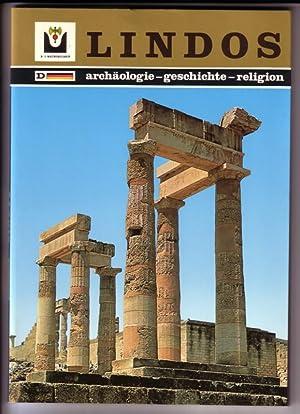 LINDOS - Archäologie, Geschichte, Religion. Touristischer Führer: Marinatos, Dr. Nanno