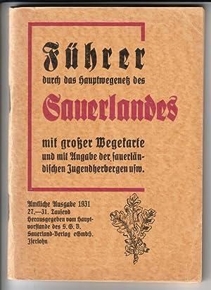 Führer durch das Hauptwegenetz des Sauerlandes (sogenannter: Hauptvorstand S.G.V. (Hrsg.)