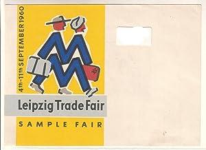 Einzelblatt Werbeblatt oder als Vorlageblatt gedacht -: Leipzig Trade Fair