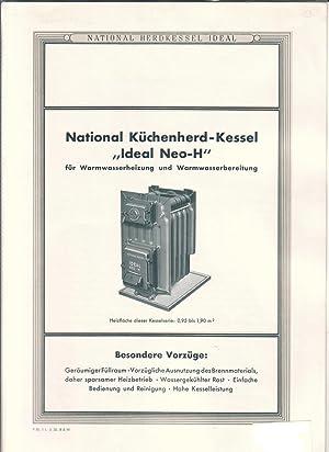 Faltprospekt (2x auffaltbar) - National Herdkessel Ideal - National ...
