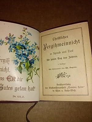 Lieder Und Sprueche Fuer Zvab