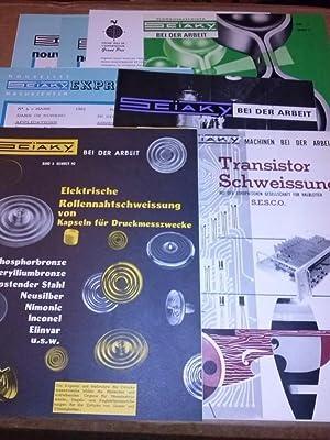 Konvolut - SCIAKY - Schweissen - Schweißtechnik: Sciaky (Hrsg.)