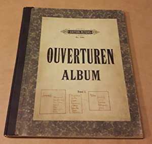 Ouverturen Album Band I. - Overtüren Album Band 1. - Edition Peters No. 1946 (Frontdruck) - enthä...