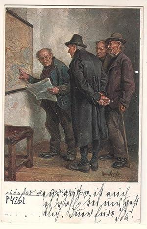 Ansichtskarte Offizielle Postkarte Bayer. Landeskomitee für freiwillige: ohne