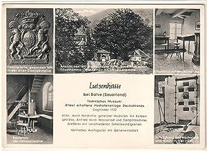 Ansichtskarte Postkarte AK Balve, Luisenhütte, Technisches Museum,: ohne