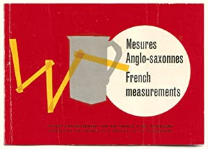 Kleines Heft: Mesures Anglo-saxonnes / French measurements.