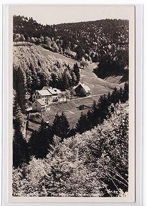 AK Wiesental Gasthaus und Pension Forsthof 1942