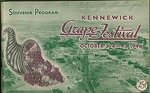 Kennewick Grape Festival October 3, 4 and 5, 1946. Souvenir Program: Editors