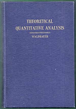 Theoretical Quantitative Analysis: Waldbauer, Louis