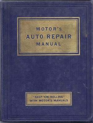 Motor's Auto Repair Manual. Fourteenth Edition: Blanchard, Harold F. (editor)