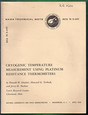 Cryogenic Temperature Measurement Using Platinum Resistance Thermometers. NASA TN D-4499: Sinclair,...
