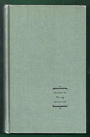 Roman Education from Cicero to Quintilian. Classics: Gwynn, Aubrey