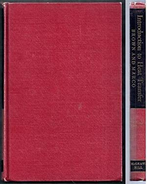 Introduction to Heat Transfer. Third Edition: Brown, Aubrey I.