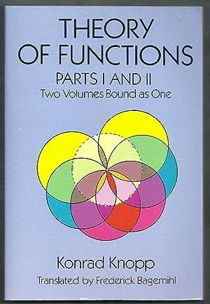 Theory of Functions Parts I & II.: Knopp, Konrad (trans.