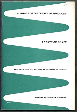 Elements of the Theory of Functions: Knopp, Konrad (trans.