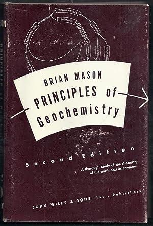 Principles of Geochemistry. Second Edition: Mason, Brian