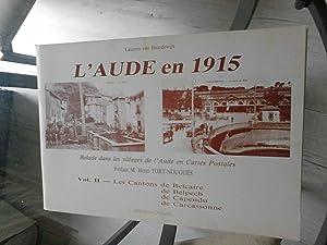 l'aude en 1915 Balade dans les villages: VAN BAARDEWIJK LAURENS