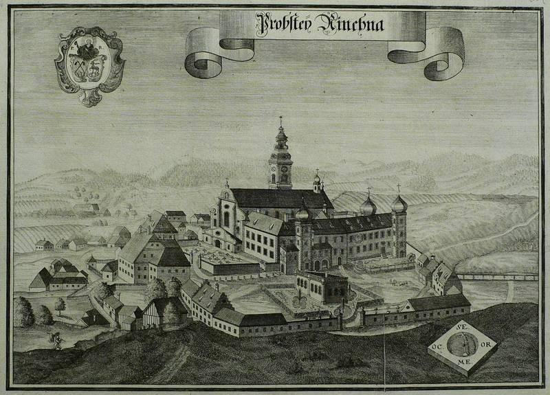 """Rinchnach. - Kloster Rinchnach. - Michael Wening. - """"Probstey Rinchna"""".: Michael Wening"""