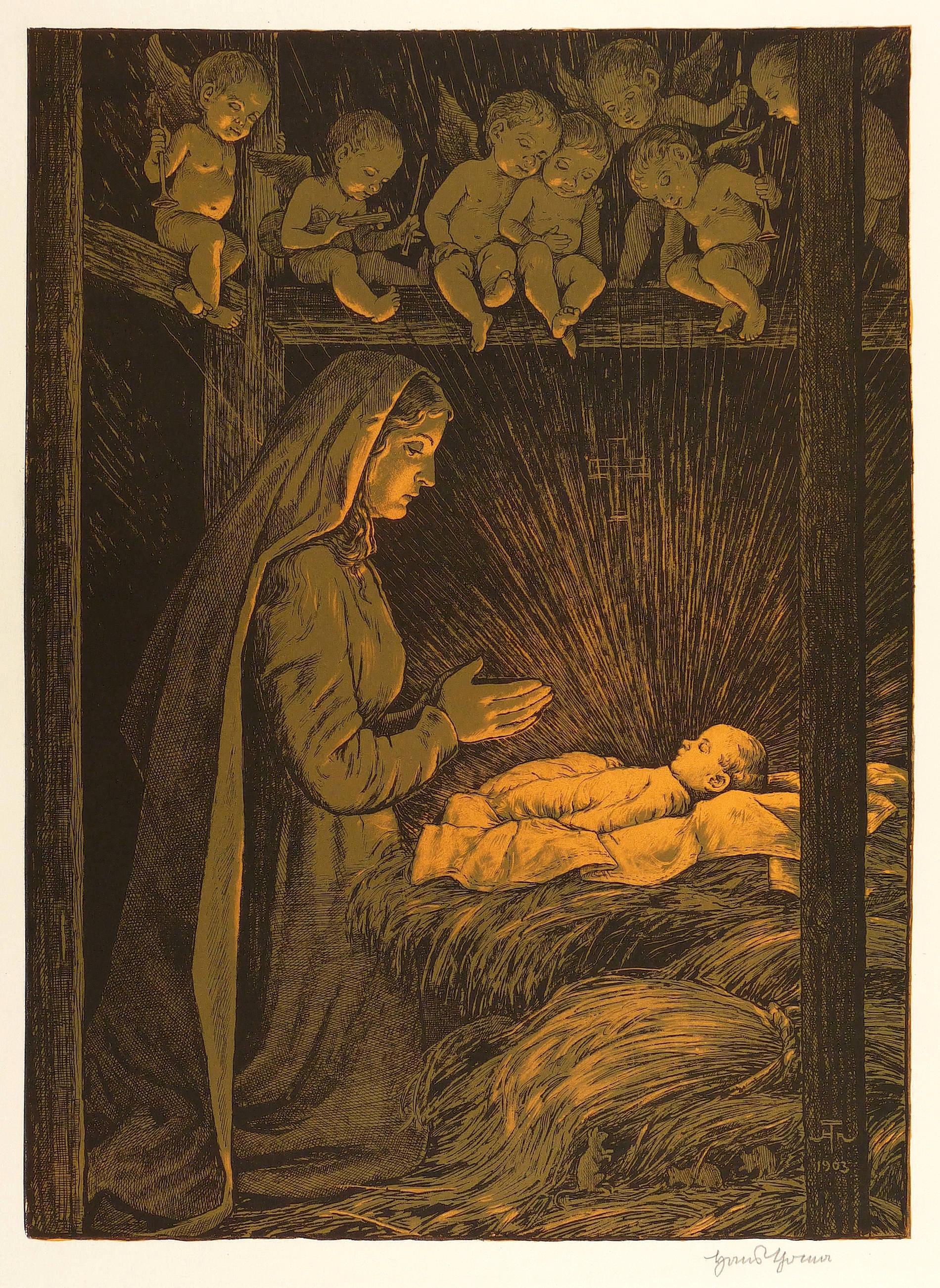 Bilder Weihnachten Krippe.Thoma Hans