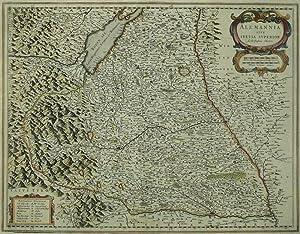 "Baden-Würtemberg & Bayern. - Oberschwaben. - Blaeu. - ""Alemannia Sive Svevia Superior..."