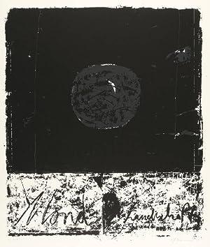 """Kammerer, Anton Paul. - """"Mond-Landschaft""""."""